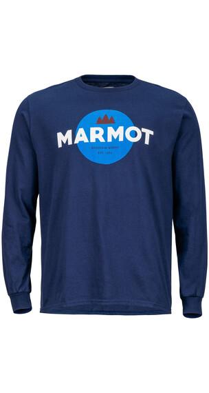 Marmot M's Ludlow LS Tee Twilight